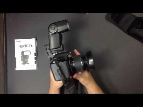 Unboxing/Review Flash Canon Speedlite 430EX II