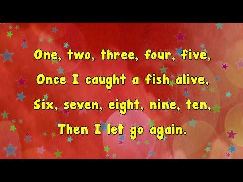 Karaoke - Fish Alive | Karaoke Rhymes