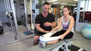 Mechanical Stretching of the Ankles : Fitness Conditioning Tips