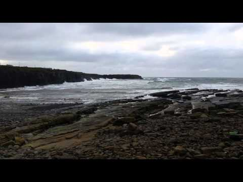 Atlantic Ocean, Spanish Point, Ireland