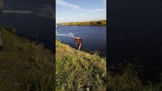 Рыбалка на реке Оша октябрь 2019