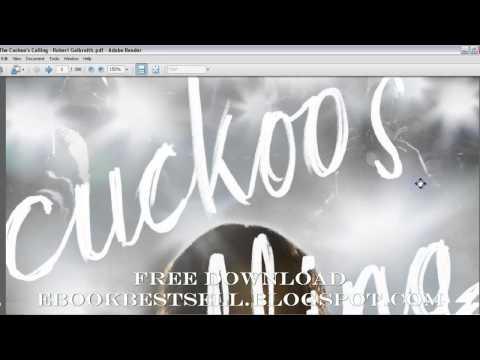 The Cuckoo's Calling Ebook Audiobook - FREE Download - [PDF - MOBI - EPUB ]