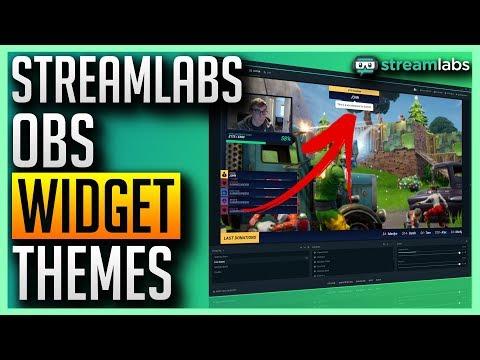 ✅ Streamlabs OBS - Free Widget Themes