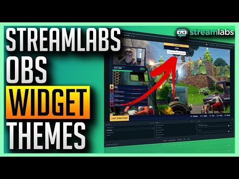 ✅ Streamlabs OBS - Free Widget Themes