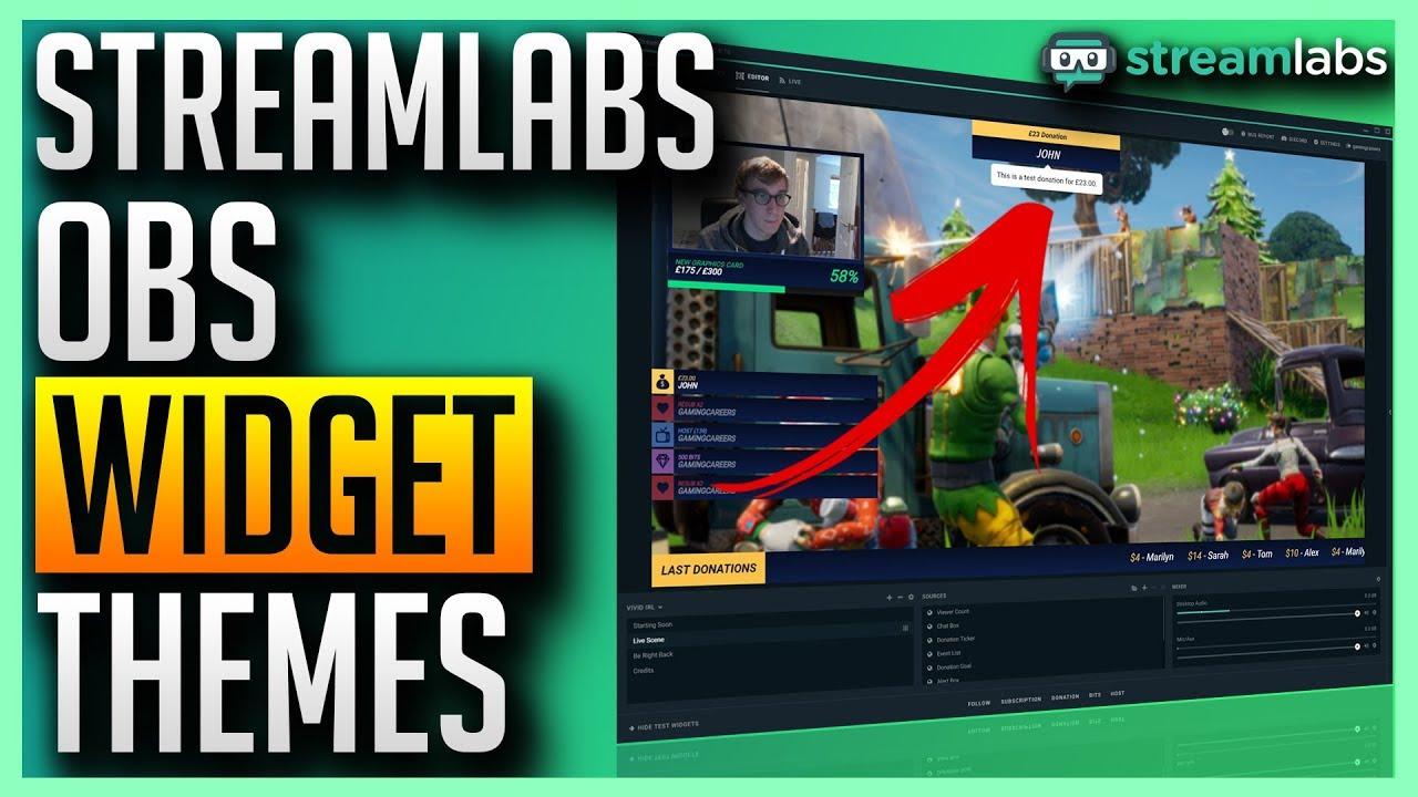 Streamlabs OBS - Free Widget Themes