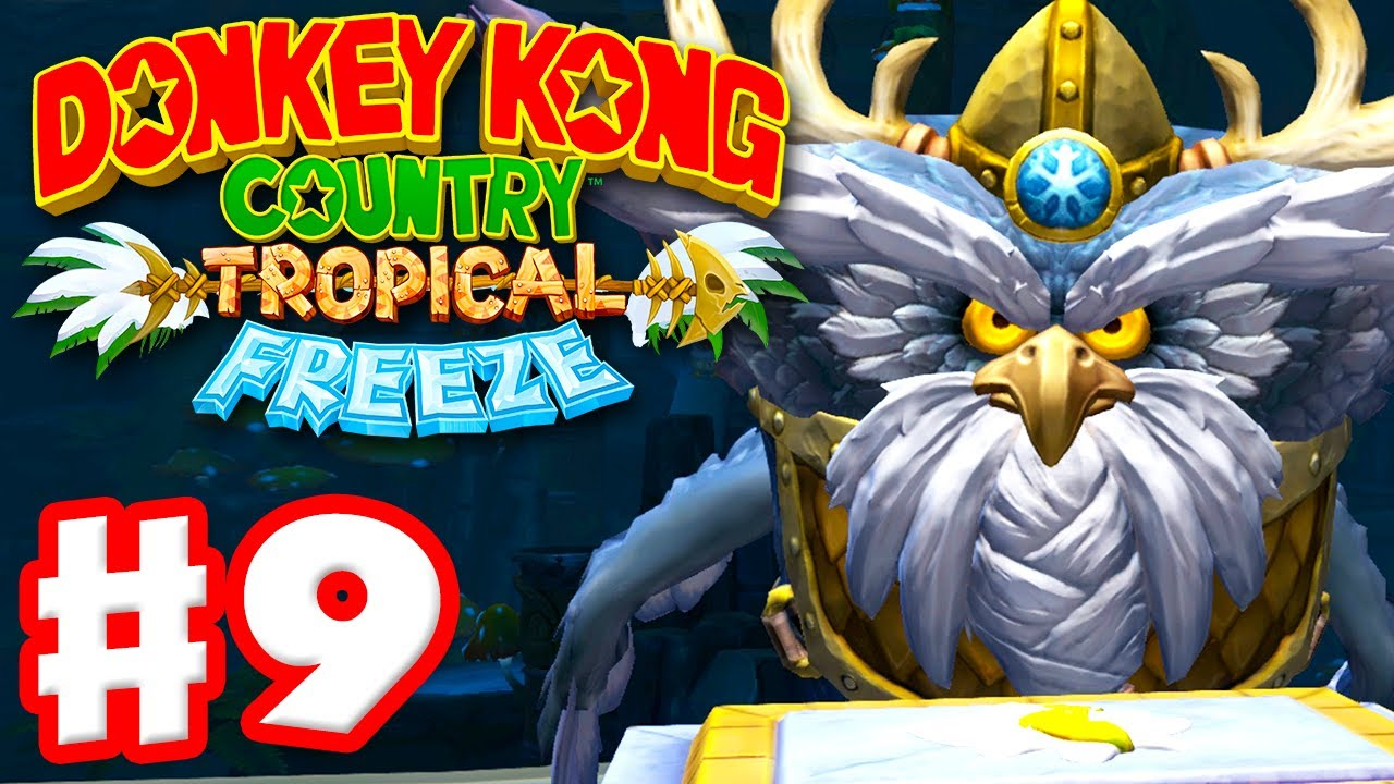 donkey kong country tropical freeze how to change world