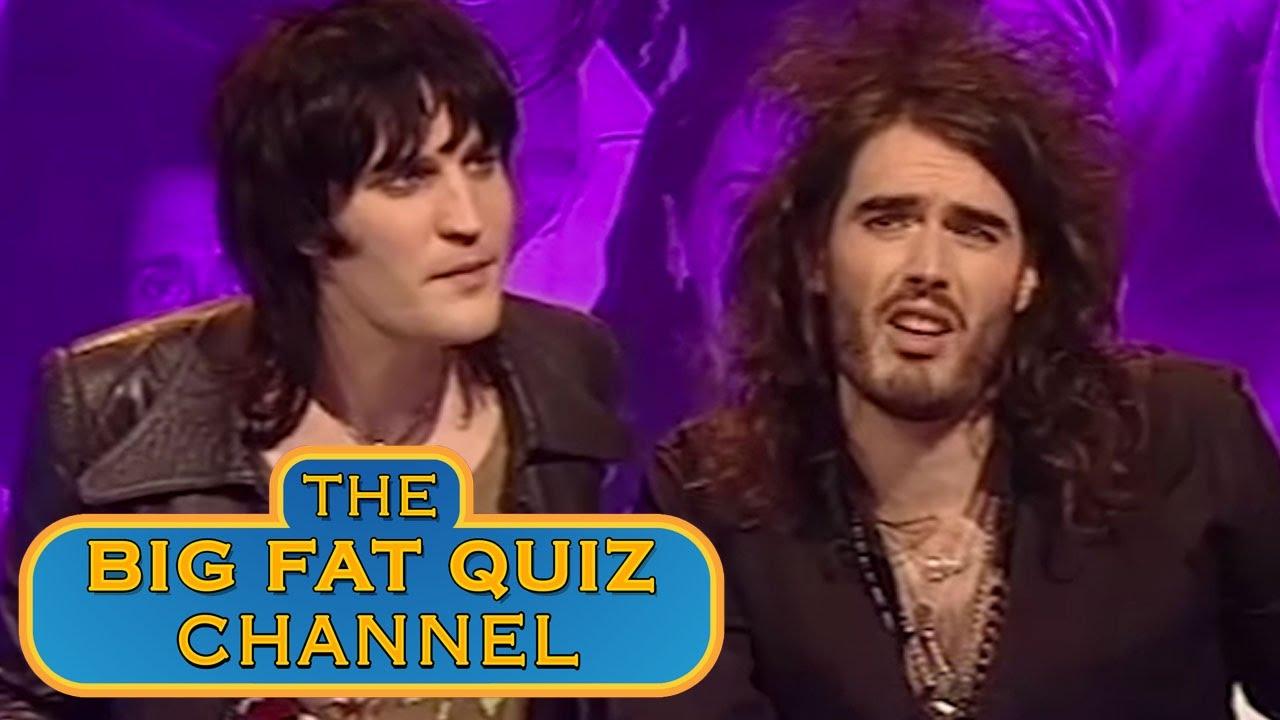 quiz noel Best of Russell Brand & Noel Fielding aka The Goth Detectives  quiz noel