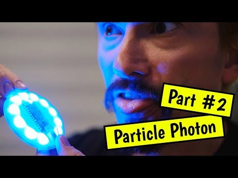 Rekindling my love of coding by doing fun hacks (Particle Photon Internet Button Part #2)