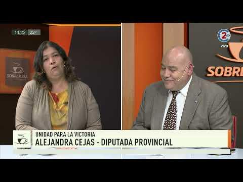 Sobremesa | Alejandra Cejas, Diputada Provincial