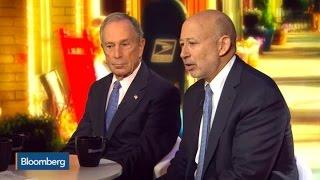 Goldman's Lloyd Blankfein: Would  He Run for Office?