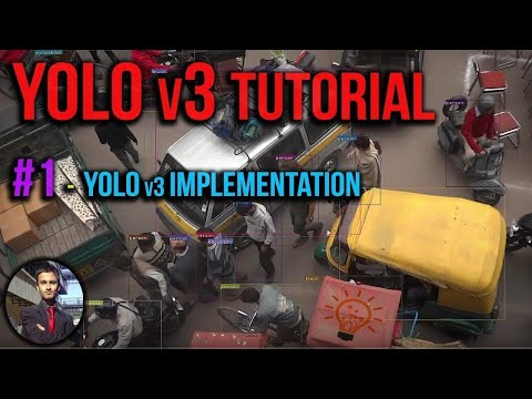 Yolo v3 Tutorial #1 - How to Implement Yolo V3 Object Detection on