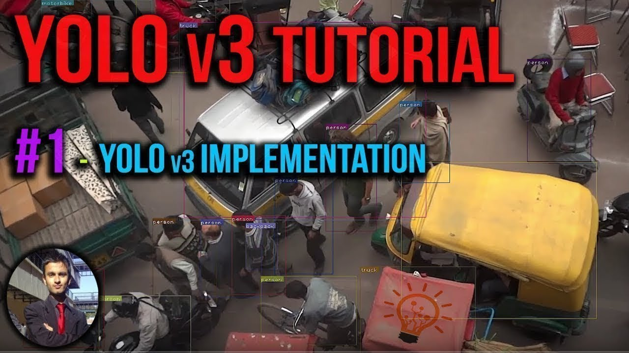 Yolo v3 Tutorial #1 - How to Implement Yolo V3 Object Detection on Windows  with GPU