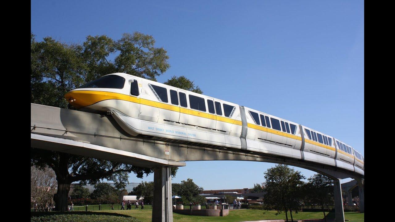 Walt Disney World Monorail Epcot to TTC 2013 HD POV Ride through ...