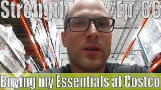 Buying my Essentials at Costco   Overhead Press Workout   Vlog   Strength Bulk Ep. 66