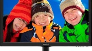 Unboxing Monitor LED TN Philips 21.5