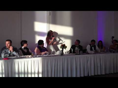 Bride Serenades her Groom - Love me Tender
