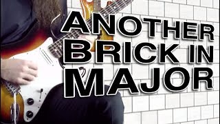 "Video David Gilmour (Pink Floyd) ""Another Brick In The Wall"" Solo In Major (lesson) download MP3, 3GP, MP4, WEBM, AVI, FLV November 2018"