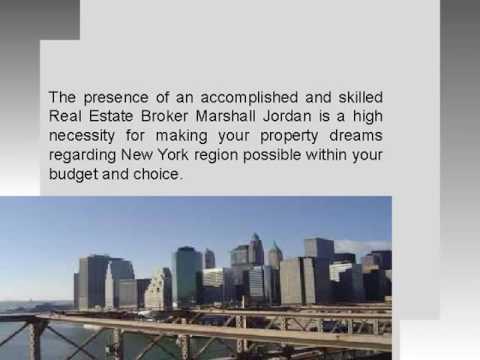 Hire marshall Jordan real estate broker