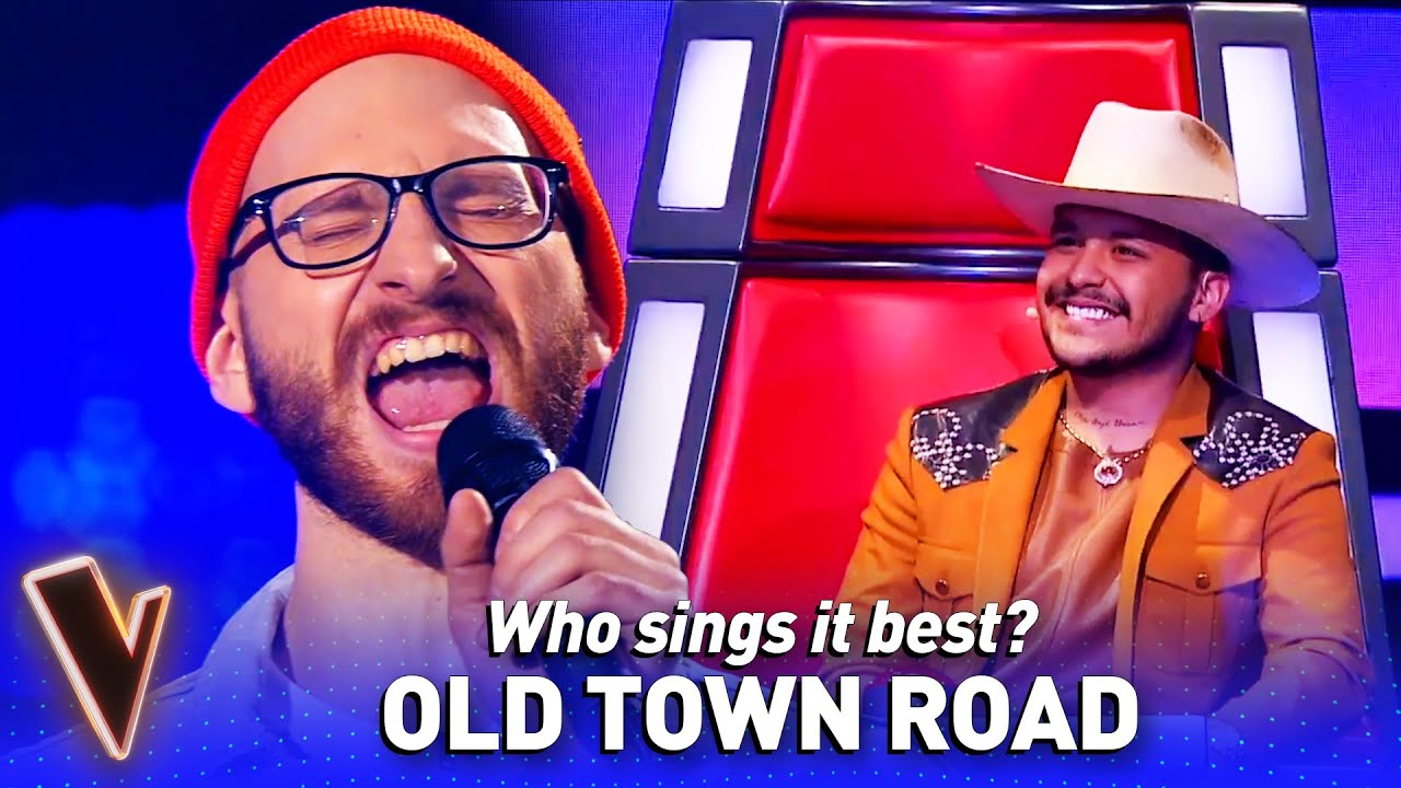 OLD TOWN ROAD covers in The Voice | Who sings it best? #17
