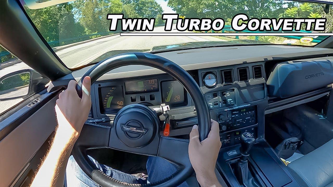 1988 Callaway Twin Turbo Corvette - All American Torque (POV Binaural Audio)
