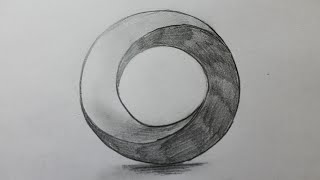 How to draw the impossible circle