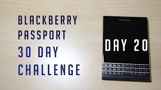 blackberry passport 30 day challenge - day 20 (driving, google mApps, games, battery and gym creep) Free HD Video