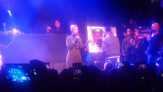Cynthia Nixon Stump Speech at Eric B. and Rakim concert