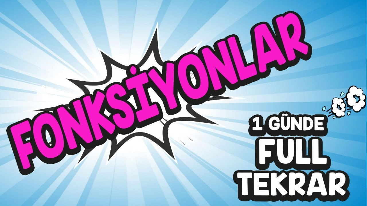 FONKSİYONLAR-1   FONKSİYON TANIMI   PDF   TYT-AYT ORTAK KONU   ÖĞRENME GARANTİLİ