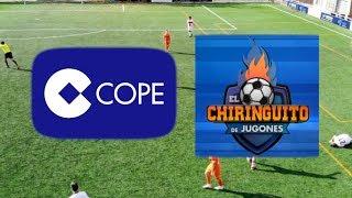 COPE 5-1 El Chiringuito | Liga de medios de comunicación
