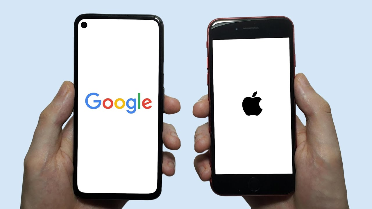 Google Pixel 4a vs iPhone SE (2020) Speed Test, Speakers, Battery & Cameras!