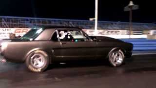procharged 65 mustang Soft test hit.