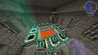 killing the ender dragon with an attack helicopter