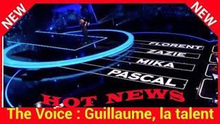 The Voice : Guillaume, la talent que tous les coachs voulaient!
