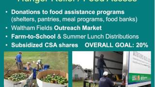 Community Farms Outreach: A Local Resource for Food Access and Environmental Education