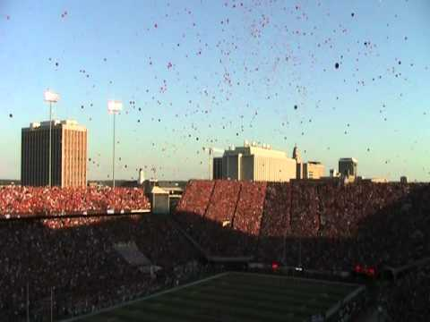 Balloon Release 9/10/11 Husker Game