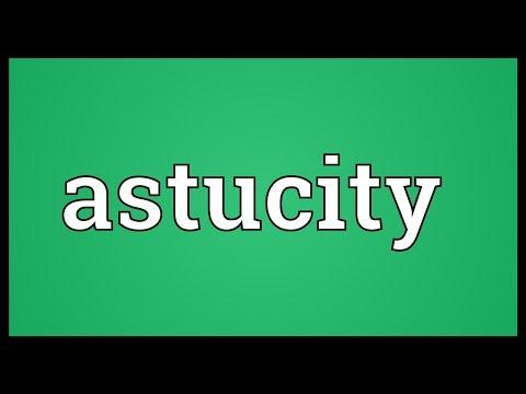 Header of astucity