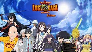 Gear Design Lostsaga Anime