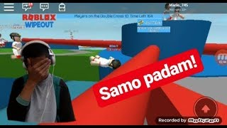 Prvi video (ROBLOX WIPEOUT)