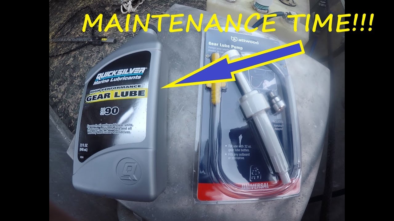 How to Change Outboard Lower Unit Oil - Changing Outboard Gear Oil -  Outboard Motor Maintenance