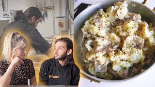 Vegan vs Professional Chef: Can I Make Their Italian Pasta Dish Vegan?