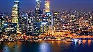 #30. Сингапур (Сингапур) (просто невероятно)(Самые красивые и большие города мира. Лучшие достопримечательности крупнейших мегаполисов. Великолепные..., 2014-06-30T22:47:23.000Z)