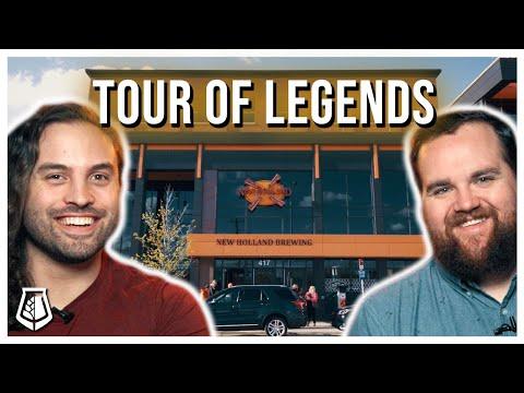 Dragon's Milk - Tour Of Legends - New Holland Brewing - BruRevu Vlog