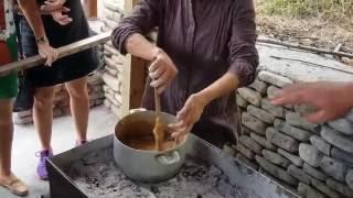 Как делается ЧУРЧХЕЛА - рецепт - грузинский Сникерс из Кахетии. Грузия. Грузинская кухня