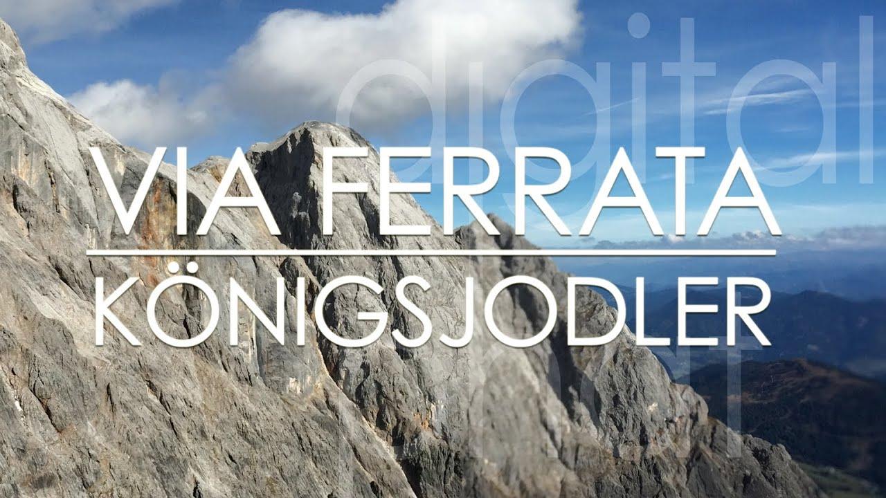 Klettersteig Hochkönig : Königsjodler klettersteig am hochkönig 2941m youtube