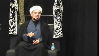 Majlis-e-Aza English 7th Muharram 1437 At Idara-e-Jaferia MD USA 10-21-2015 Sheikh Hilli
