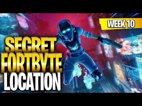 WEEK 10 SECRET BATTLESTAR REPLACED BY FORTBYTE - Found At A Location Hidden Within Loading Screen 10