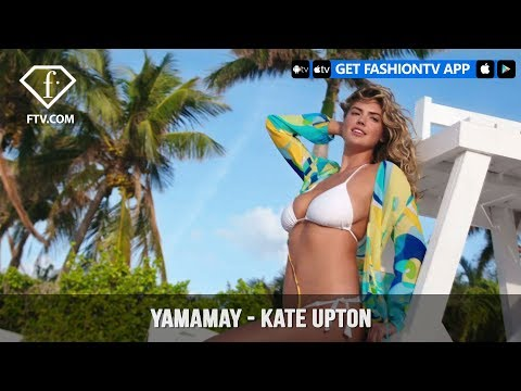 Kate Upton Shows Off Her Curves with Yamamay Swimwear Campaign | FashionTV | FTV