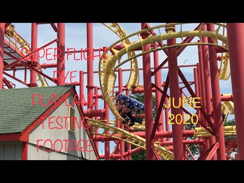 Super Flight Testing Footage June 2020 - Rye Playland (Rye, NY)