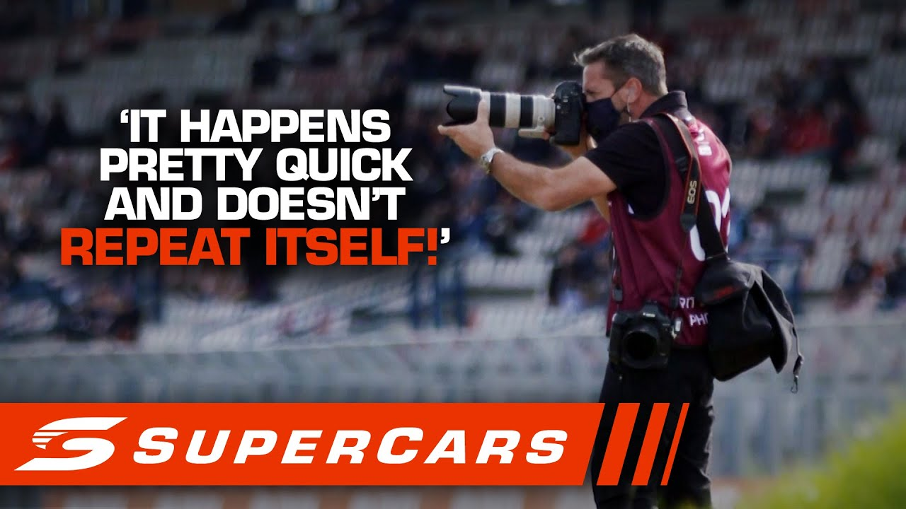 Behind the Lens: Meet renowned Supercars photographer Mark Horsburgh | Supercars 2020