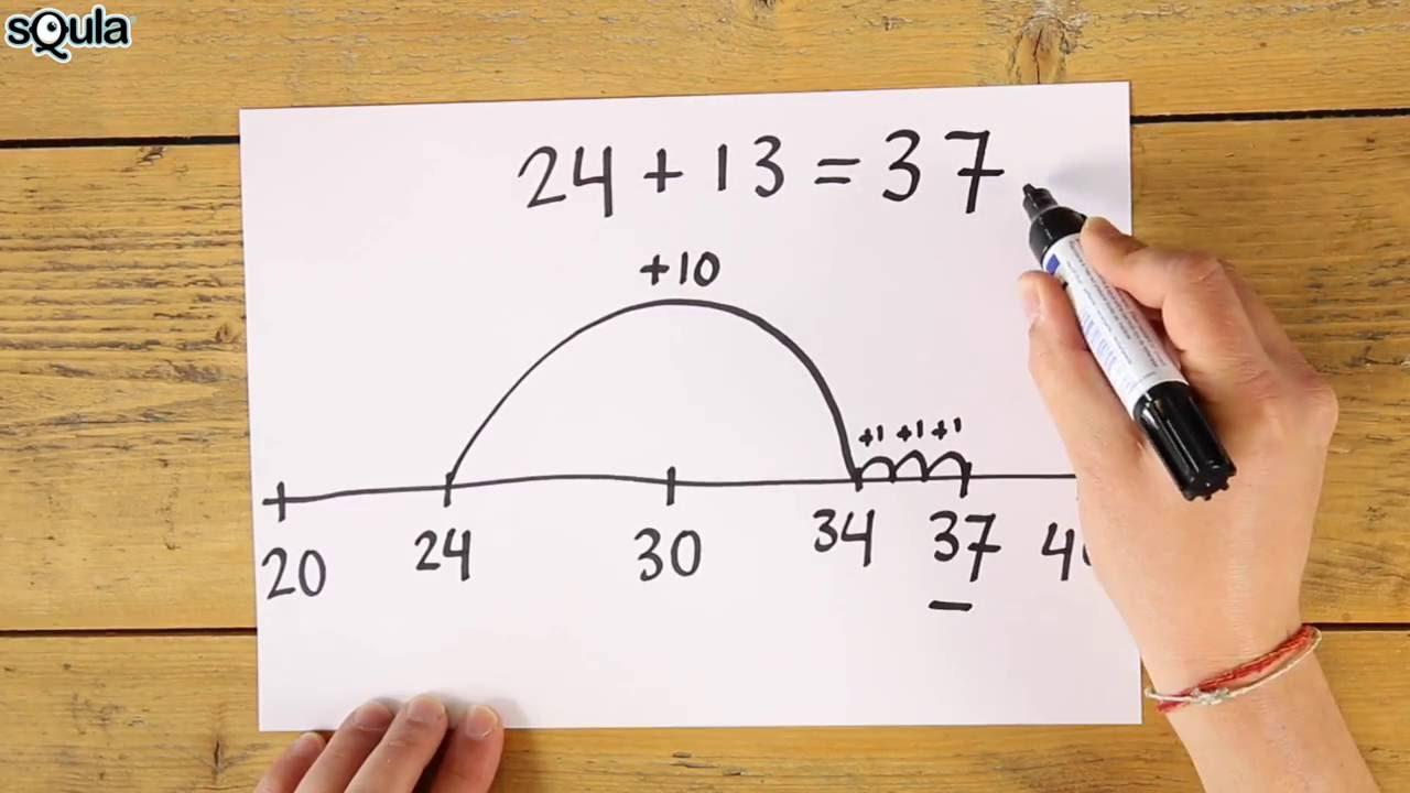 Welp Squla uitlegfilmpje: rekenen met de getallenlijn (groep 4) - YouTube GI-91